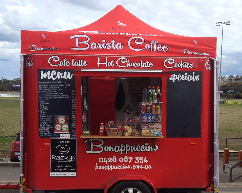 Bonappuccino Mobile Trailer